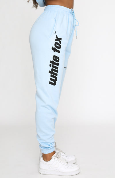 Up Late Sweatpants Baby Blue