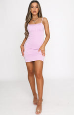 Summer Edit Mini Dress Lilac