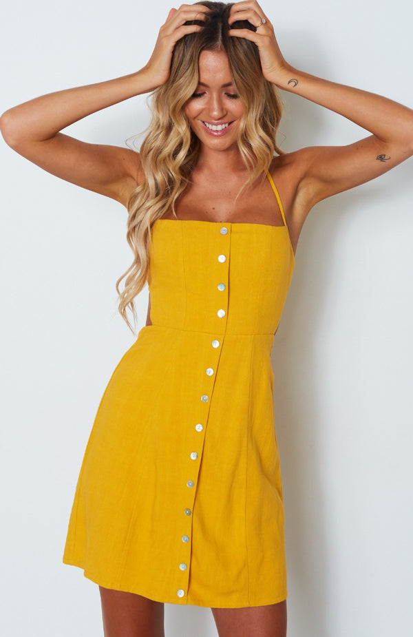 Free Spirit Dress Sunrise