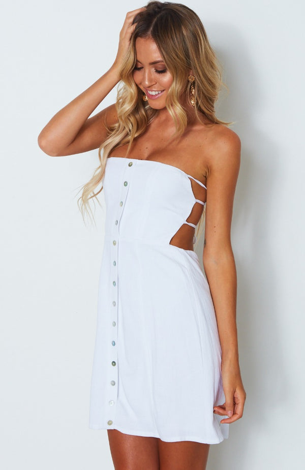 Free Spirit Dress White