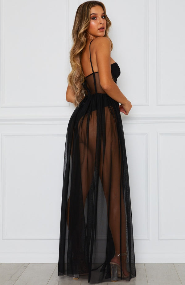 Modern Muse Maxi Dress Black