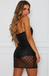 Envy Mini Dress Black