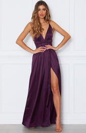 Akela Maxi Dress Plum