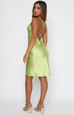 An Obsession Midi Dress Lime
