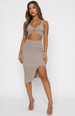 In Tune Crop Beige