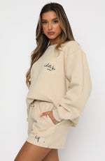 Self Love Club Oversized Sweater Sand