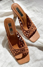 Olsen Mules Sugar Brown