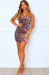 Wildwood Mini Dress Dusk