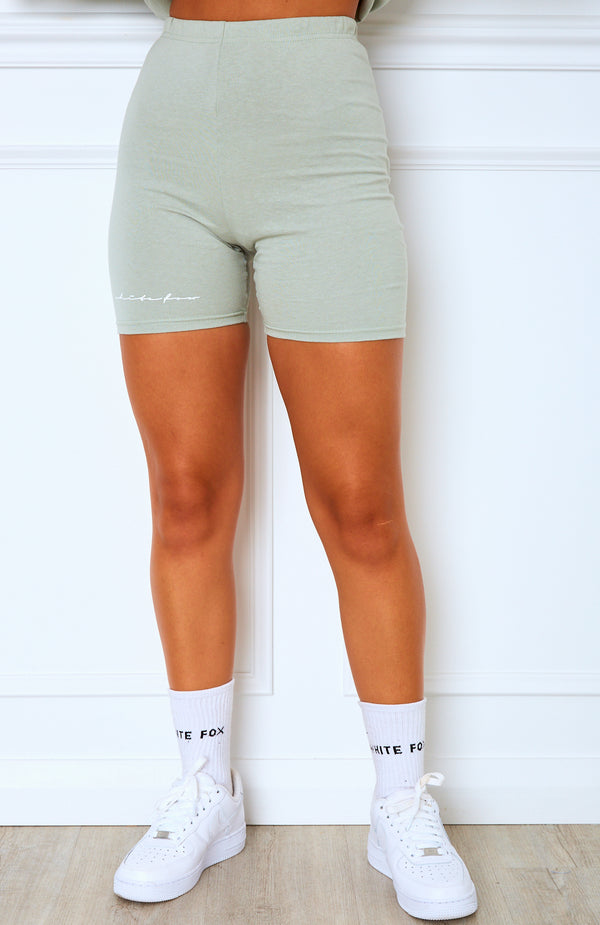 Signature Bike Shorts Sage
