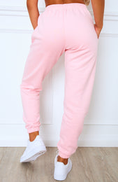 Tied Together Sweatpants Pink