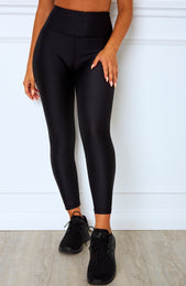 Peyton Panel Leggings Midnight