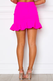 Daydream Mini Skirt Hot Pink