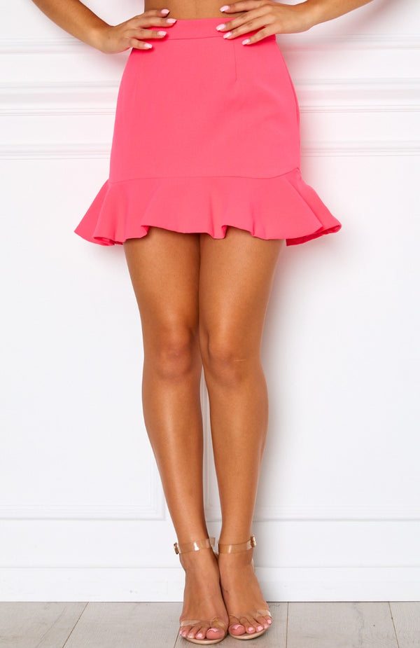 Daydream Mini Skirt Watermelon