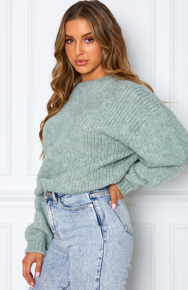 It's A Match Knit Mint