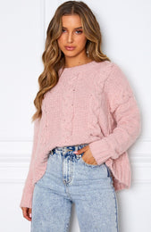 Mix It Up Knit Pink