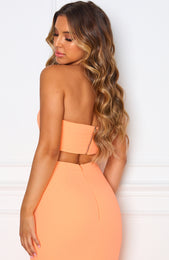 Save The Date Crop Peach