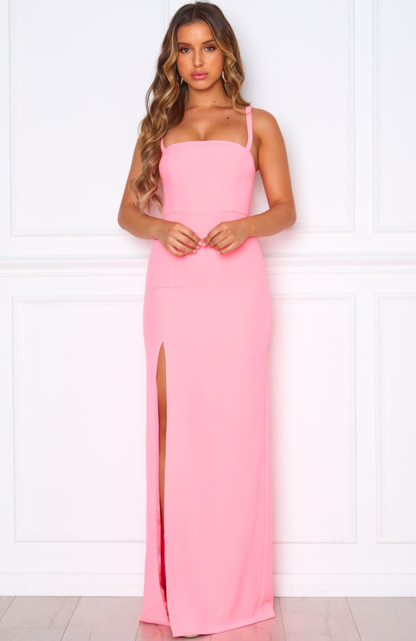 Make An Entrance Gown Neon Pink
