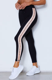 Sporty Spice Leggings Black