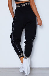 Tomboy Doll Track Pants Black
