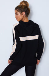 I'm Busy Sweater Black/Apricot