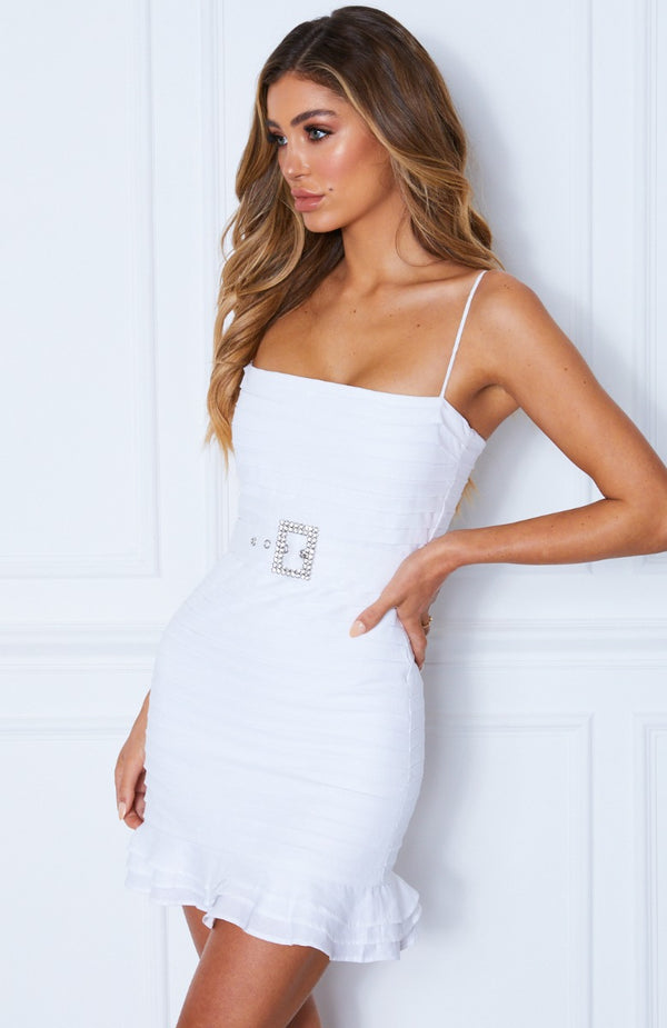 La Dolce Vita Dress White