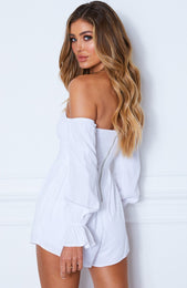 La Rousse Playsuit White
