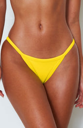 Sofia Bottoms Yellow Rib