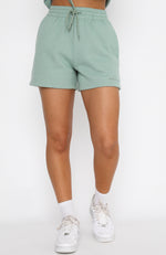 Along For The Ride Lounge Shorts Sage