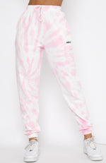 Better Together Sweatpants Pink Tie Dye