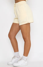 Along For The Ride Lounge Shorts Butter