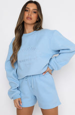 Best Of Both Oversized Sweater Ice Blue