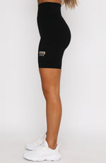 Take A Leap Bike Shorts Black