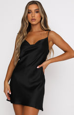 Modern Romance Mini Dress Black