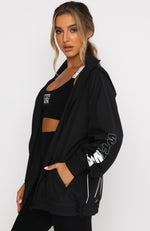 On Track Windbreaker Black