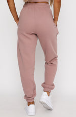 Big League Sweatpants Mauve