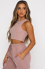 Star Struck Crop Mauve