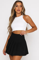 Think You Know Mini Skirt Black