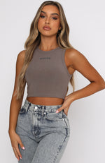 Star Struck Crop Mocha