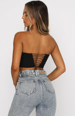 About Time Bustier Black