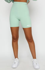 Just In Bike Shorts Sage