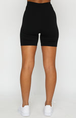Just In Bike Shorts Black