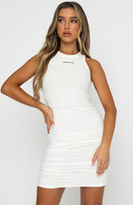 Chase The City Mini Dress White