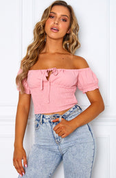 Heatstroke Crop Blush