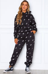 Monogram Sweatpants Black