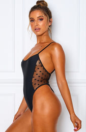 Eliana One Piece Black