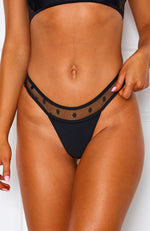 Olivia Bottoms Black