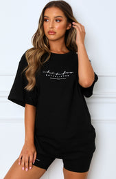 Established Tee Black