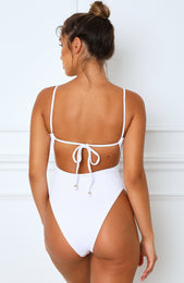Soda Spritz One Piece White