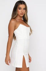 Change The Tune Mini Dress Off White