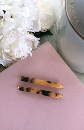 Zara Hair Pins Tort
